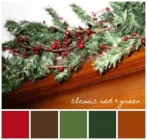 holiday-colors-classic-red-and-green-645x615  Holiday Decorating tips holiday colors classic red and green