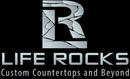 Life Rocks Counter Tops Outdoor Design affiliates Outdoor Design Affiliates life rocks logo