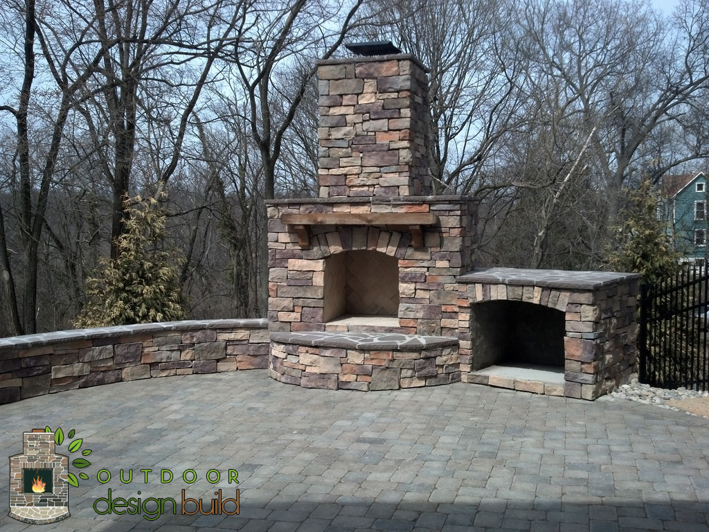 cincinnati outdoor fireplace