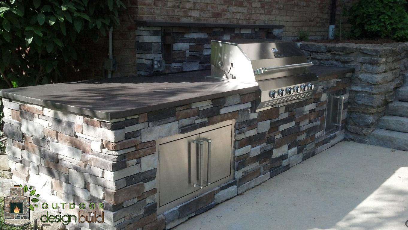 poolside grill station outdoor design build. Black Bedroom Furniture Sets. Home Design Ideas