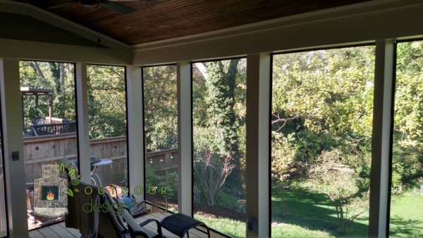Enclosed Porch with Roof