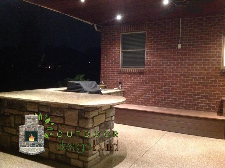 Cincinnati Outdoor Kitchen Plan