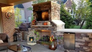 Cincinnati Outdoor Fireplace and Grill Station outdoor fireplace Outdoor Fireplace 19 outdoor fireplace and grill station