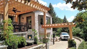 outdoor design build Outdoor Design Build Cincinnati 7 cedar pergola