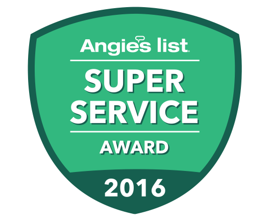 Outdoor Design Build is honored to have received the Angie's List Super Service Award again in 2016
