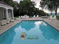 Cincinnati area gunite pool customized
