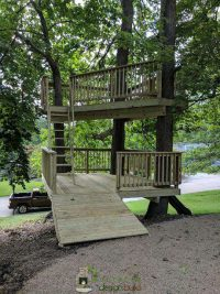 Tree house custom