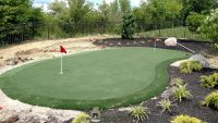 golf putting green yard